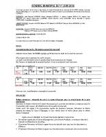 CONSEIL MUNICIPAL 2019.06.17